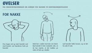 Gode øvelser til nakken