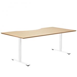 Delta bord med PEFC bordplade